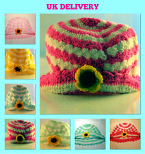 1 2 3 Yrs Toddler Infant Knit Crochet Beanie Fashion Warm Hat Cap - UK Delivery