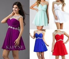 Short Homecoming Cocktail Dresses Evening Prom Party Gowns Size 6 8 10 12 14 16