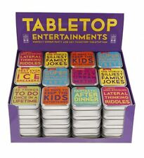 LAGOON TABLETOP TRIVIA FAMILY QUIZZES - Dinner Party Games & Stocking filler