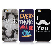 Popular Cool Pattern Hard  Phone Cover Case Skin For Apple for iphone5 5S PT1373