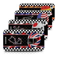 STUFF4 Back Case/Cover/Skin for Apple iPhone 4/4S/F1 Track Flag