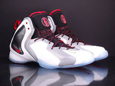 NIKE Lil Penny Posite white reflect silver black red 2014 Foamposite 630999 100