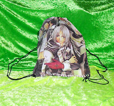 ANIME Manga DRAWSTRING Backpack Sack BAG Nitemare NBC Fantasy Bleach Naruto BNWT