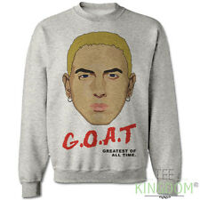 EMINEM SLIM SHADY TRIBUTE SWEATER SWEATSHIRT JUMPER GOAT RAP HIP HOP D12 XS-XXXL