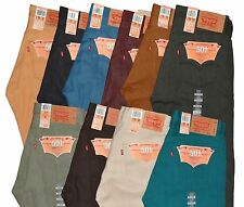 Levi's Men's 501 Original Shrink-to-Fit Jeans *^*^*Many Colors*^*^* All New