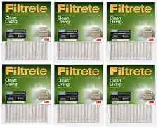 3M Filtrete Green Dust Reduction Pleated Air Furnace Filter - (6 Pack) MPR 500