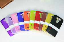 NEW Clear Soft TPU Gel Silicone Hybrid Impact Kickstand Case Cover For LG G2 G3