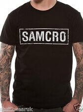 Official Sons Of Anarchy SAMCRO  T Shirt Black S M L XL XXL
