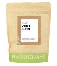 Organic CACAO / COCOA BUTTER - make chocolate and cosmetics - Choose Quantity!