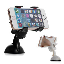 Universal 360°Car Holder Windshield Mount Bracket For Cell Phone iPhone Samsung