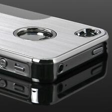 Brushed Aluminium Case Cover Profile Design For iPhone 5 5S + Screen Protector