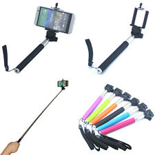 Extendable Self Portrait Handheld Monopod Holder For Galaxy Note 2 3 S2 S3 S4 S5