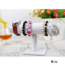 New 1-Tier Velvet Watch/Bracelet Jewelry Display Organizer Stand Holder 3 Color