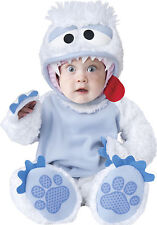 Infant Toddler Abominable Snowman Snowbaby Animal Costume Halloween