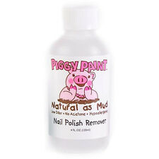 Piggy Paint Acetone Free Nail Polish Remover Low Odor Natural and Kid Friendly
