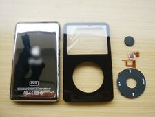 4IN1 BLK Front Cover & Metal Back Housing Cover &Click Wheel iPod 5th Gen Video