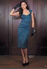 Stop Staring! NWT, the LOVE Dress in Blue Lace, XS - XL Available! Fall 2014!