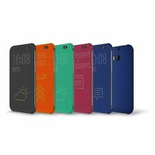 Standard Replacement Dot View Case Cover For HTC ONE M8 (2014)