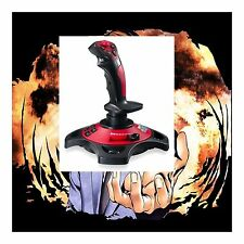 Computer game flight simulator Joystick Rudder For PC Gaming Controllers new #7