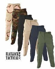 BDU Camo Tactical Pants 100% Cotton Ripstop Propper Cargo Pants F5201