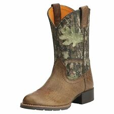 ARIAT CHILDRENS/YOUTH CAMO HYBRID WESTERN COWBOY BOOTS! NEW! 10014098!