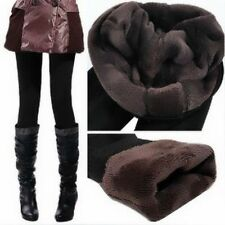Women/Girl's Thick Warm Fleece lined Fur Winter Tight Leggings Pants,2Colors