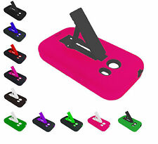 For Samsung Galaxy Ace Style S765C SM-G310 Kickstand Hybrid Phone Cover Case