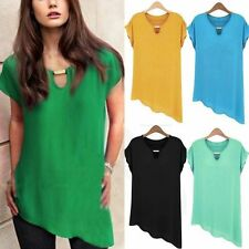 summer sexy women Casual Chiffon Sleeveless Vest Shirt Tops Blouse Ladies Top