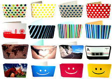 Oyster Card Holder Wallets for Train Tickets and Bus Pass Classic Designs