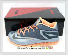 2014 Nike Lebron XI 11 Low Lava Magnet Grey Mango 642849-002 US 8~11 Basketball