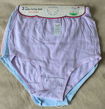 NEW Melissa Pack of 3 Full Size Briefs Size WMS 38-40 in Hips Style ML2 FREE P&P