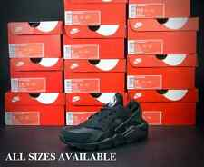 "NIKE AIR HUARACHE LE ""TRIPLE BLACK"" UK 6 7 8 9 10 11 12 OG 318429-003 EXCLUSIVE"
