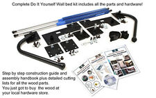 Easy DIY Murphy Bed Hardware Kit for All Homes Small Spaces Lofts  & Bedroom