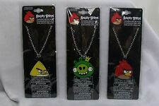 Angry Birds Chain Necklace with Metal Charm Pendant *New Free Shipping