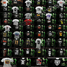 PUNK ROCK ALL BAND'S 60's 70's 80's 90's T SHIRT MEN'S SIZES