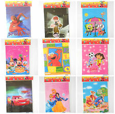 50 Pcs Kids Birthday Party Bags 5-12 years Boy Girl Cartoon Gift Filler Multi