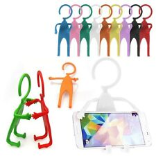 Hanging Man Mobile Guy Fun Flexible Novelty Cell Phone Mount Holder Phone GPS US