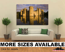 Wall Art Canvas Picture Print - Bodiam Castle in East Sussex 3.2