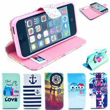 Popular Selection Image Gel Pouch Flip Leather Stand Case Cover for iPhone 5/5S