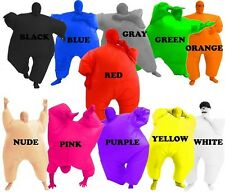 Adult Chub Suit, Inflatable Fancy Dress Costume, Sumo Suit & Second Skin Mask