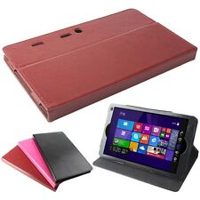 """New Slim Dedicated Tablet PC Stand PU Leather Cover Folding Case For Pipo W2 8"""""""