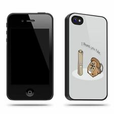 iPhone YouTube Pun Funny Cool  Phone Case Shell for iPhone 4 / 4S