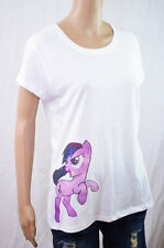 Pastel Goth My Little Pony Kawaii Urban Harajuku Bronie White Tee Shirt Fashion