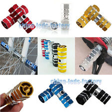 "A Pair of Bicycle Bike BMX Axle hexagonal alloy foot stunt peg 3/8"" Alu 2 pcs"