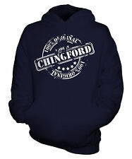 MADE IN CHINGFORD UNISEX ADULT HOODIE MENS WOMENS LADIES FUNNY BRAND NEW