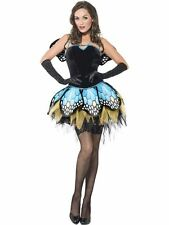 LADIES FEVER BOUTIQUE BUTTERFLY COSTUME SEXY FANCY DRESS ANIMAL INSECT OUTFIT
