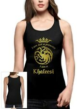 I'm Not A Princess I'm A Khaleesi Frauen Tank Top GOT Gold- inspirierte Winter
