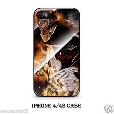 Jonas Hiller  Anaheim Ducks Hockey Custom iPhone 4/4S 5 Hard Case Cover B