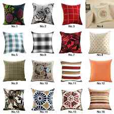 """18""""Room Decorative Cushion Cover Back Seat Car Throw Pillow Case Paisley Printed"""