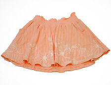 GENUINE GIRLS/WOMENS ROXY ORANGE SKIRT (XAWSK137) (R2)